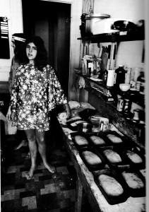 Girl in Commune Kitchen