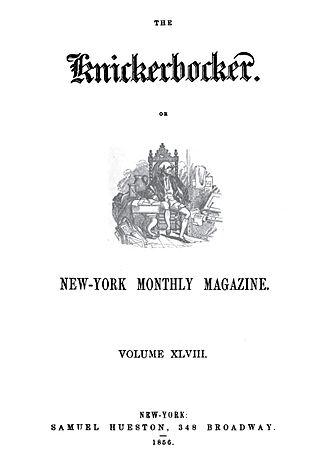 Knickerbocker Magazine 1856
