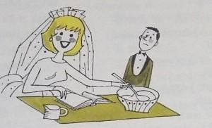 Midcentury Bride Bread