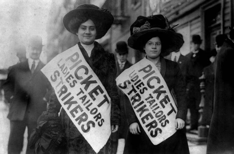ILGWU Strikers 1909